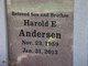 Harold Eugene Andersen