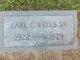 Profile photo:  Earl Clarence Wells, Sr
