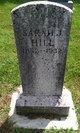 Profile photo:  Sarah Jane <I>Gammon</I> Hill