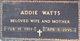 """Ada Belle """"Addie"""" <I>Gue</I> Watts"""