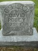 Profile photo:  David Clarence Posey