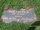 Paul Carter, Sr