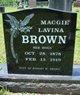 Maggie Lavina <I>Hoon</I> Brown