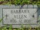 Profile photo:  Barbara Allen