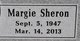 Margie Sheron <I>Gilbert</I> Harward