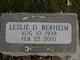 Profile photo:  Leslie Duane Berheim