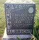 Bulus E Albright