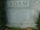 "Profile photo:  Johann Friedrich ""John"" Adam"