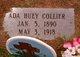 Profile photo:  Ada <I>Huey</I> Collier