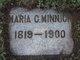 Maria Catherine <I>Reed</I> Minnich