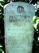 PFC Matthew American Horse