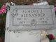 Florence J Alexander