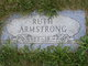 Profile photo:  Ruth <I>Miller</I> Armstrong