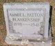 Profile photo:  Annie Louise <I>Patton</I> Blankenship