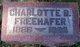 Charlotte Bertha <I>Ackerman</I> Freehafer