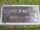 George W Waters