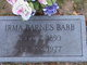 Profile photo:  Irma Sue <I>Barnes</I> Babb