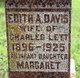 Mrs Edith Ann <I>Davis</I> Lett