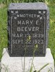 Mary Elizabeth <I>Welborn</I> Beever