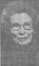 Profile photo:  Alma Minnie <I>Wiese</I> Peterson