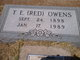 """Taylor Ervin """"Red"""" Owens"""