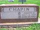 "Joseph Beecher ""Joe"" Chapin"