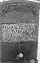 Elizabeth <I>Floyd</I> Walker