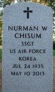 Profile photo:  Nurman Wayne Chisum