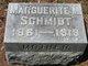Marguerite M <I>Ludwig</I> Schmidt