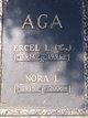 Profile photo:  Nora Lorraine <I>Anderson</I> Aga