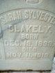 Sarah <I>Sylvester</I> Blakely