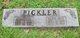 Profile photo:  Alice Bell <I>Hall</I> Pickler