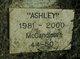 "Profile photo:  ""Ashley"" McCandless"