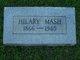 Profile photo:  Hillary Mash