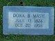 Profile photo:  Dora Brown Mash