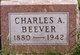Charles Augustus Beever