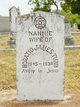 """Nancy Amanda """"Nannie"""" <I>Tubb</I> Tubb"""