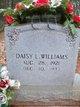 Daisy Lee <I>Gilbert</I> Williams