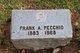 Profile photo:  Frank A. Pecchio
