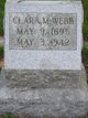 Profile photo:  Clara Margaret <I>Saunders</I> Webb