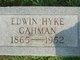 Profile photo:  Edwin Hyke Gahman