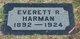 Profile photo:  Everett R Harman