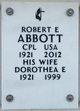 Profile photo:  Dorothea E Abbott