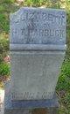 Sarah Elizabeth <I>Howell</I> Harbuck