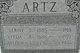 Profile photo:  Arthur A Artz