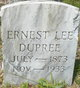Ernest Lee Dupree