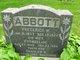 Profile photo:  Frederick W. Abbott