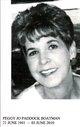 Profile photo:  Peggy Jo <I>Paddock</I> Boatman