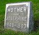 Josephine Catherine <I>Klock</I> Brooks