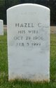 Profile photo:  Hazel C Roantree